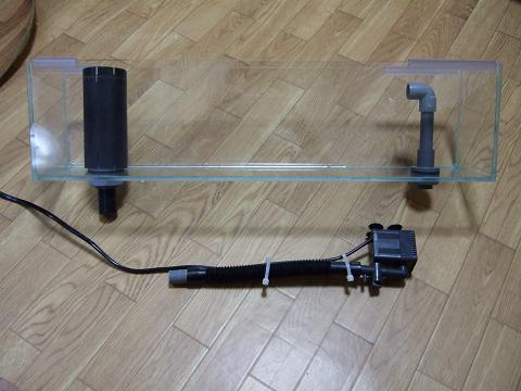 アクアリウム専門店JUNのポンプ付スレンダー600OFセット