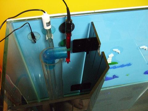 センサーの電極を仮組みしてみました。