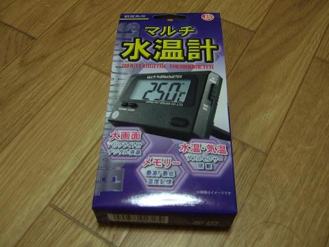 日本動物薬品株式会社のマルチ水温計