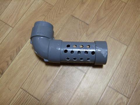 排水音の消音器(自作)