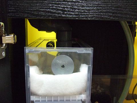 排水音の消音器(自作)を配管