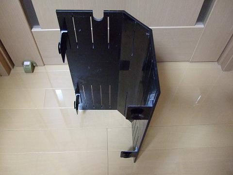 オーバーフロー水槽のコーナーカバー