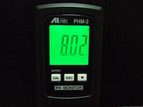 カエルアンコウのPHは、「7.8~8.2」ぐらいでキープ