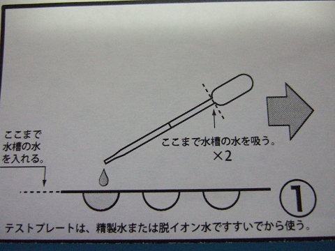 シーケム銅テスターの使い方1