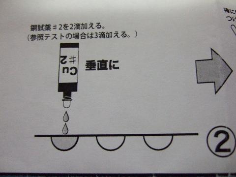 シーケム銅テスターの使い方2