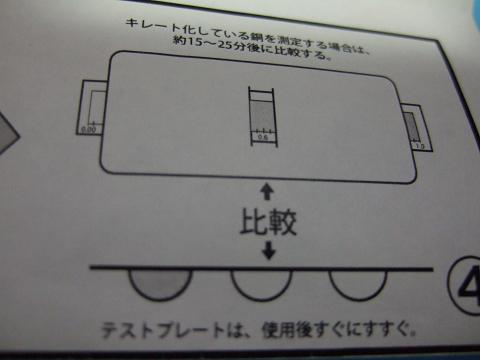シーケム銅テスターの使い方4
