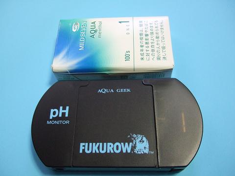 FUKUROWの測定器の本体です。