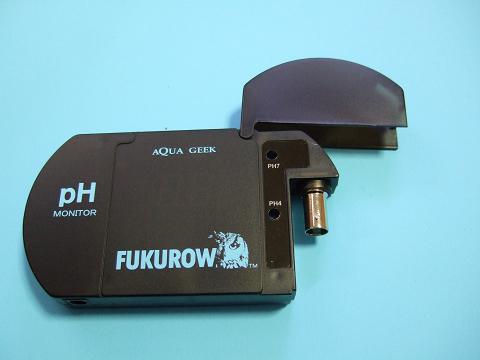 FUKUROWの測定器を開いたところ