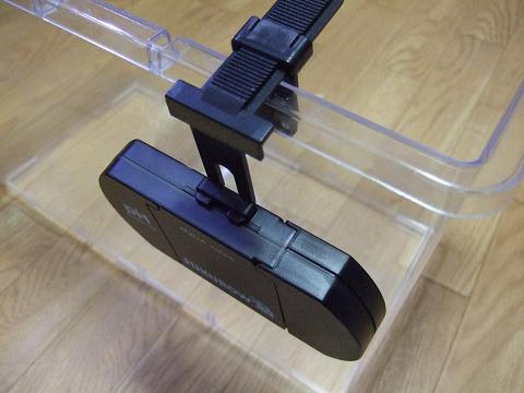 測定器をセット