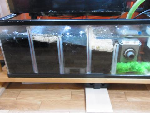 5層式の濾過槽