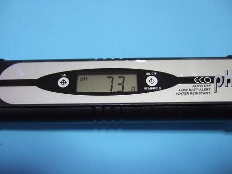 エコペーハーで測ったPH