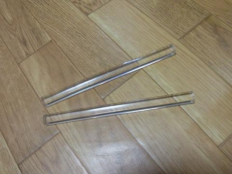 1cm角のアクリル棒