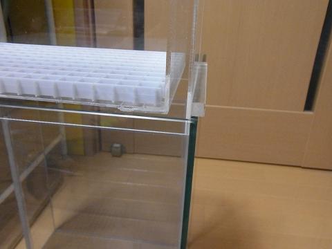 ウールボックスを濾過槽にセットしてみました!