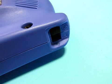 電気ドリル(日立工機 FD10VA2)の回転方向の切り替えスイッチ