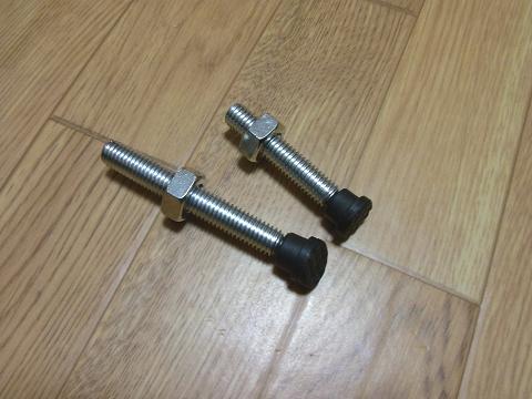 ディスクグラインダー用スタンド(SK11 藤原産業社)の「グラインダー押さえボルト」