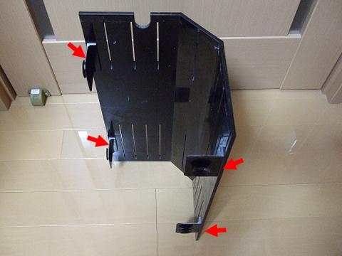 カエルアンコウ水槽のコーナーカバー