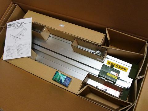 プロクソン スライドソウ SS630(No.24950)の箱の中身の写真