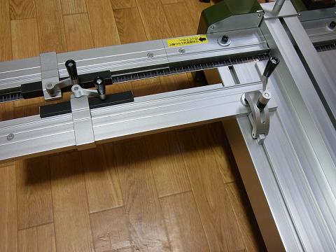 プロクソン・スライドソウ SS630(No.24950)の「材料スライドガイド」