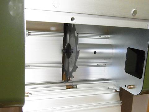 プロクソン・スライドソウ SS630(No.24950)の「モーターボックス」の中の「丸のこ刃(チップソウ)」