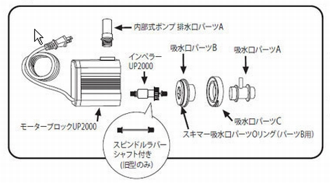 「HS-400」のパーツ図