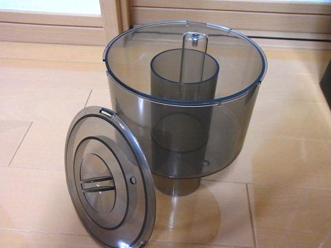 海道達磨の「ゴミ受けカップ」と「フタ」