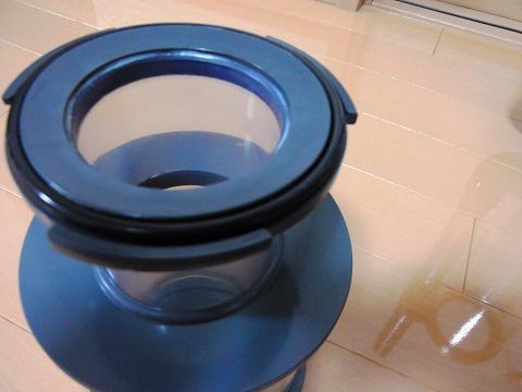 H&Sのプロテインスキマー「HS-400」のカップ